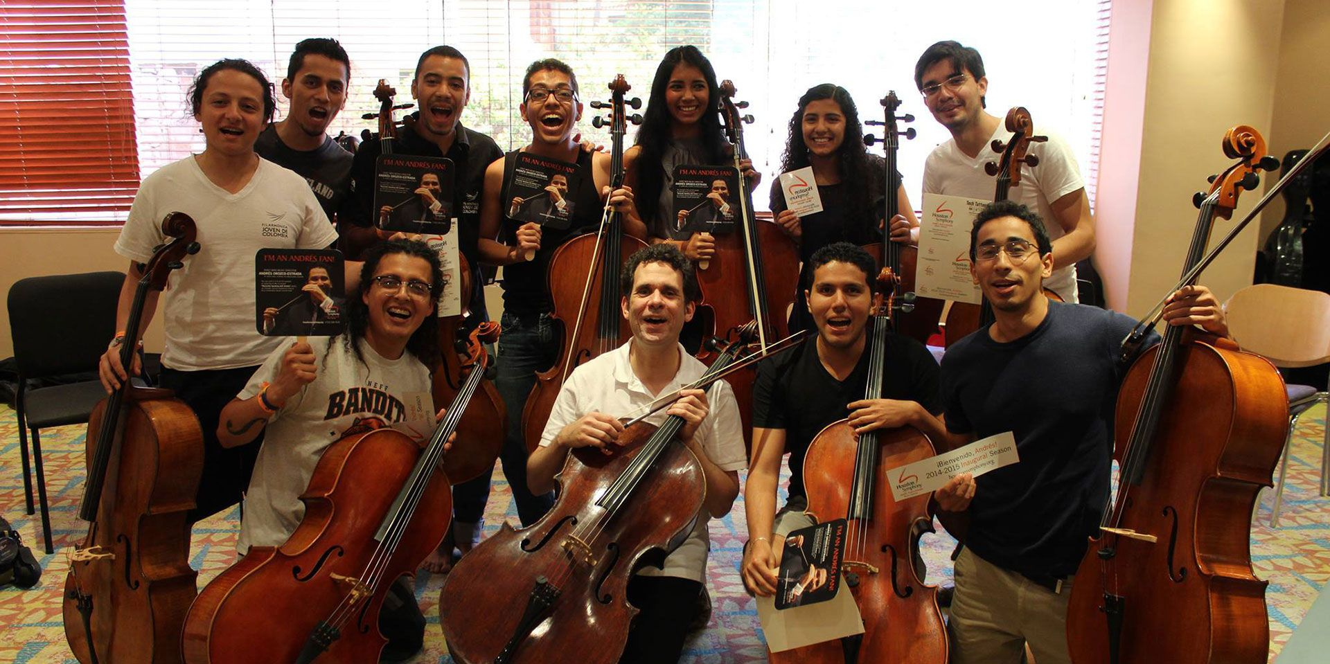 Cellists with HSO Gear