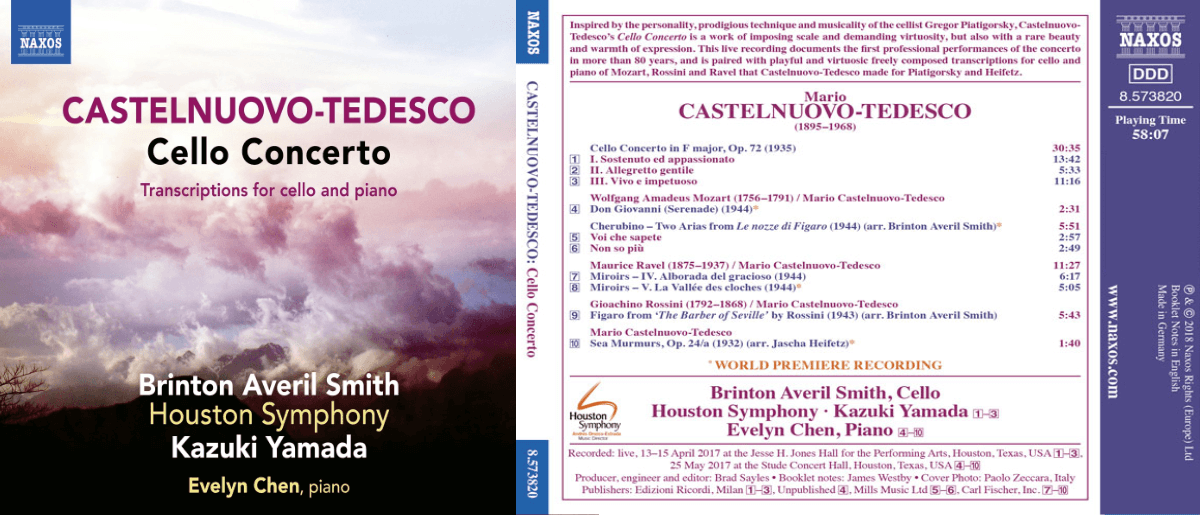 Podcast: Castelnuovo-Tedesco's Cello Concerto. A radiant rediscovery